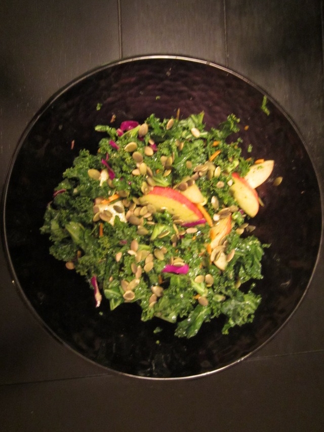 Pale Kale salad